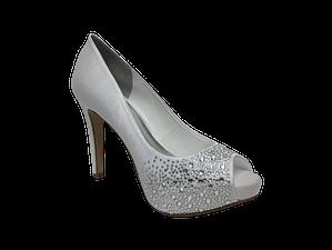 Meia pata de noiva Lopez calcados